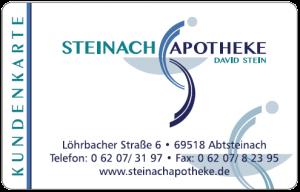 Kundenkarte Steinach Apotheke